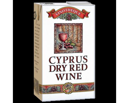 Вино Cyprus красное сухое 1л