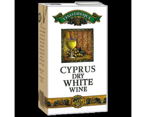 Вино Cyprus белое сухое 1л