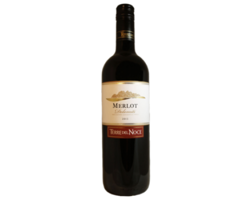 Вино Terre del Noce Merlot красное сухое 0,7 л