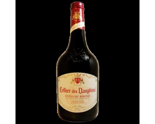 Вино Cellier des Dauphins Cotes du Rhone красное сухое