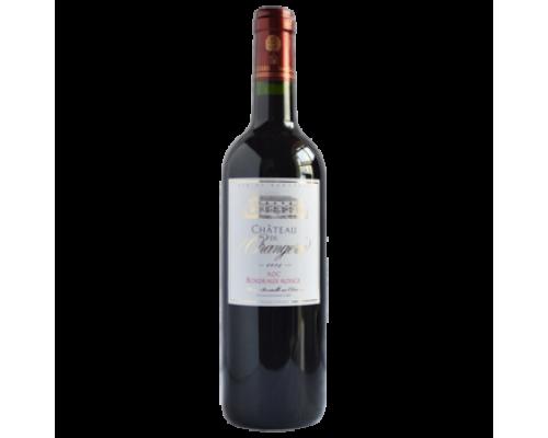 Вино Chateau de Orangeries Bordeaux Rouge красное сухое 0,75 л
