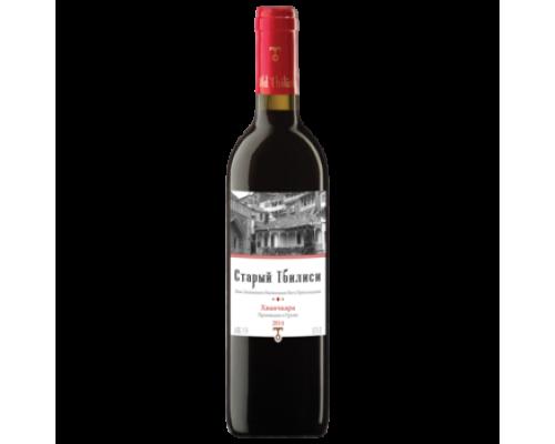 Вино Старый Тбилиси Хванчкара красное полусладкое 0,75 л
