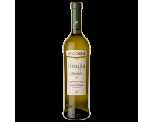 Вино Nicosia Insollia белое сухое 0,75 л
