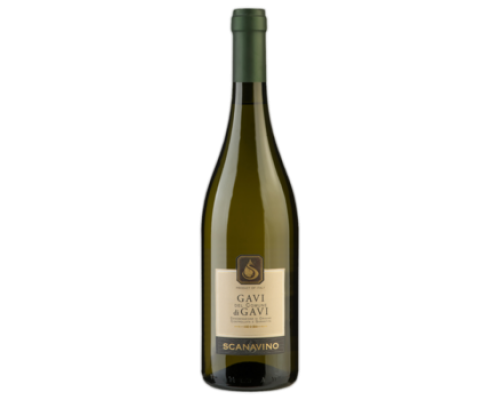 Вино Scanavino Gavi di Gavi белое сухое 0,75 л