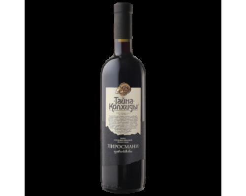 Вино Пиросмани Тайна Колхиды красное полусухое 0,75 л