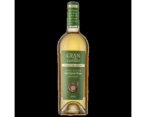 Вино Gran Castillo Family selection Sauvignon белое полусухое 0,75