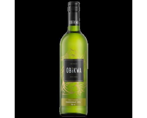 Вино Obikwa Chardonnay белое сухое 0,75 л
