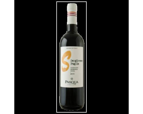Вино Pasqua Sangiovese красное полусухое 0,75 л