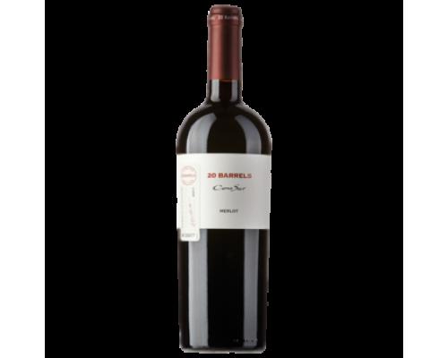 Вино Cono Sur 20 Barrels Merlot красное сухое 0,75 л