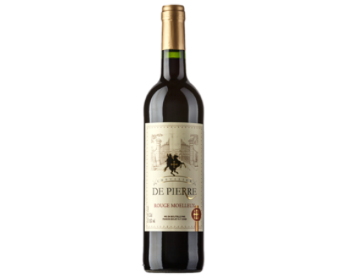 Вино Chevalier de Pierre красное полусладкое 0,75 л