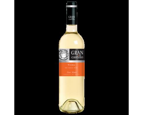 Вино Gran Castillo Viura белое сухое 0,75 л