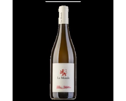 Вино Le Monde Pinot Grigio белое сухое 0,75 л
