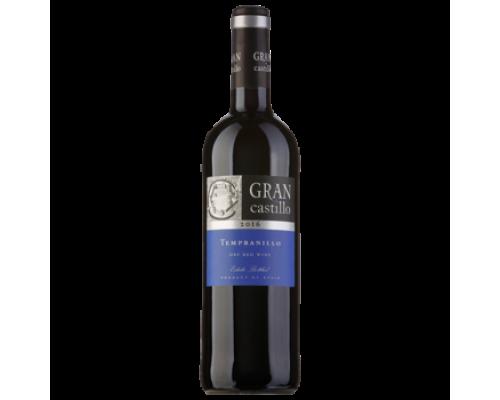 Вино Gran Castillo Tempranillo красное сухое 0,75 л