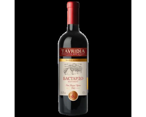Вино Тавридия Бастардо красное полусухое 0,75 л