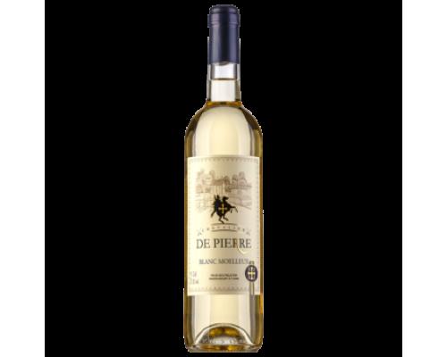 Вино Chevalier de Pierre белое полусладкое 0,75 л