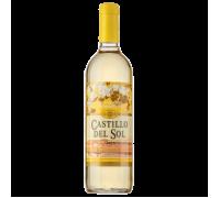 Вино Castillo del Sol белое полусладкое, 0,75л