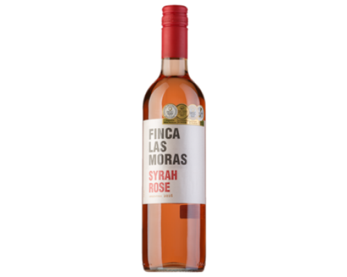 Вино Finca las Moras Syrah розово сухое, 0,75 л