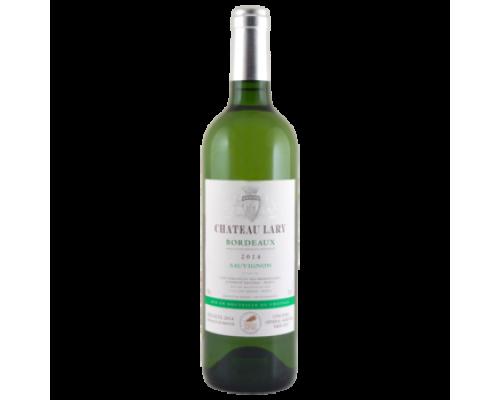 Вино Chateau Lary Sauvignon белое сухое 0,75 л