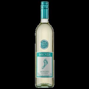 Вино Barefoot Moscato белое сладкое 0,75 л