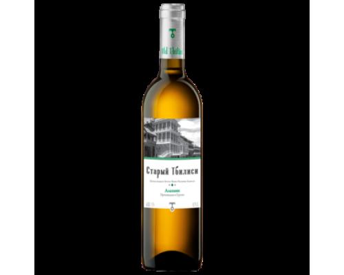 Вино Старый Тбилиси Алазани белое полусладкое 0,75 л