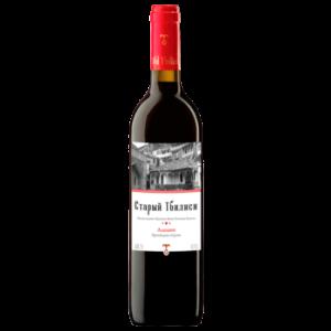 Вино Старый Тбилиси Алазани красное полусладкое 0,75 л