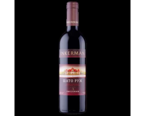 Вино Инкерман Шато Руж красное полусухое 0,7 л
