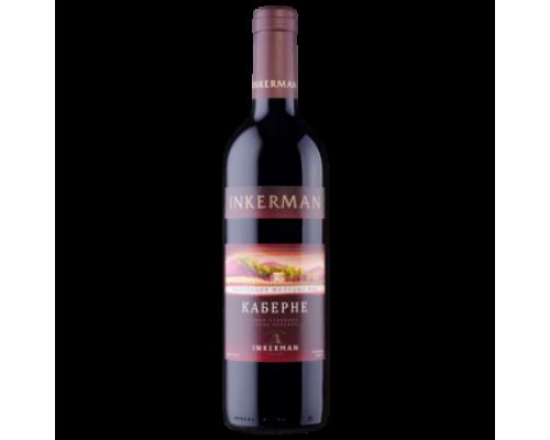 Вино Инкерман Каберне красное сухое 0,7 л