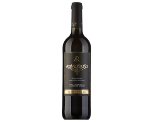 Вино Armanioso Tempranillo красное сухое 0,75 л