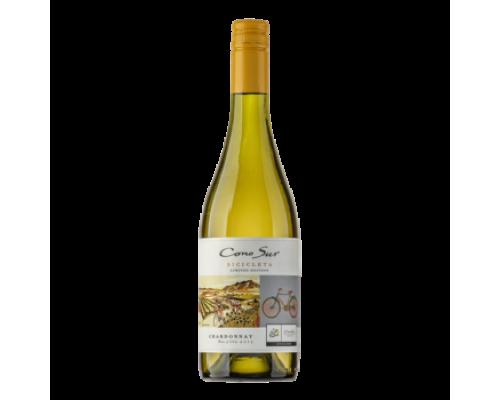Вино Cono Sur Bicicleta Chardonnay белое сухое 0,75 л