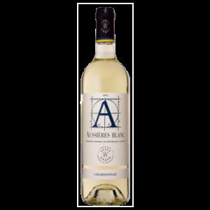 Вино Aussieres Chardonnay белое сухое 0,75 л