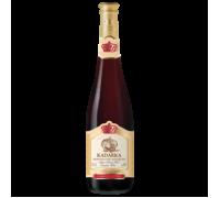 Вино Кадарка, красное полусладкое 0,75 л