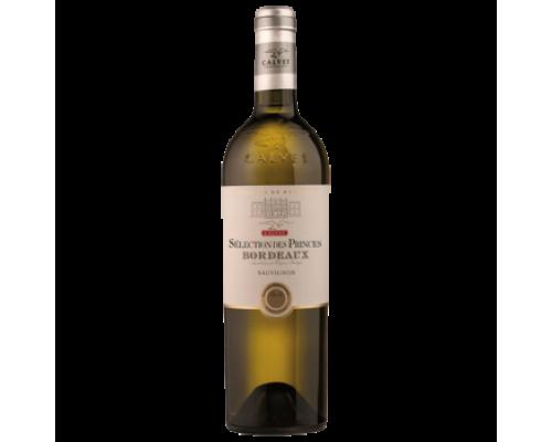 Вино Calvet Sélection des Princes Bordoux белое сухое 0,75 л