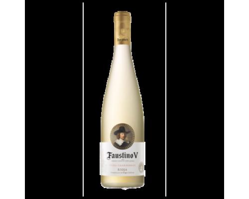 Вино Faustino V Viura - Chardonnay белое сухое 0,75 л