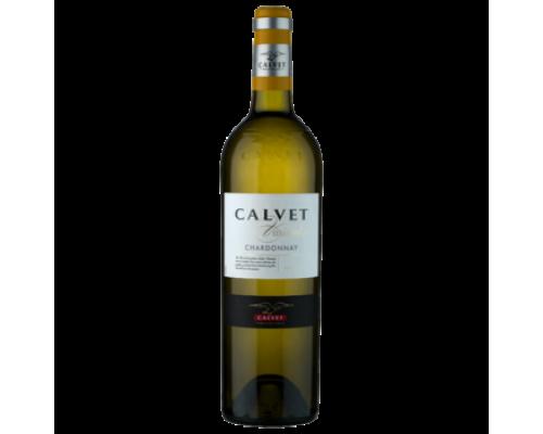 Вино Calvet Chardonnay белое сухое 0,75 л