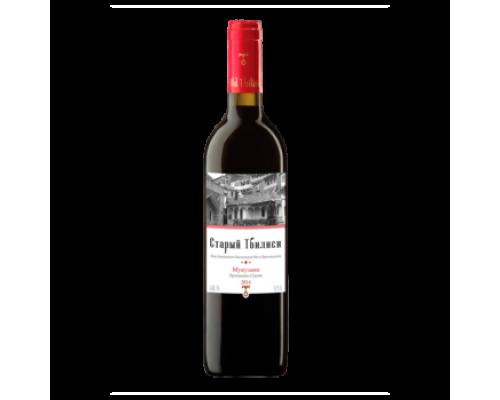 Вино Старый Тбилиси Мукузани красное сухое 0,75 л