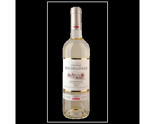 Вино Calvet Chateau Rochelongue Bordoux белое полусладкое 0,75 л