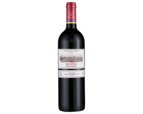Вино Le DIX красное сухое 0,75 л