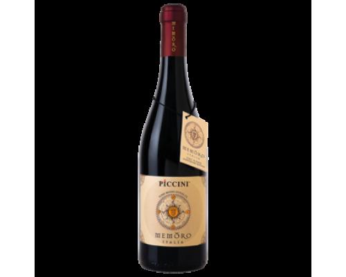 Вино Piccini Memoro красное полусухое 0,75 л