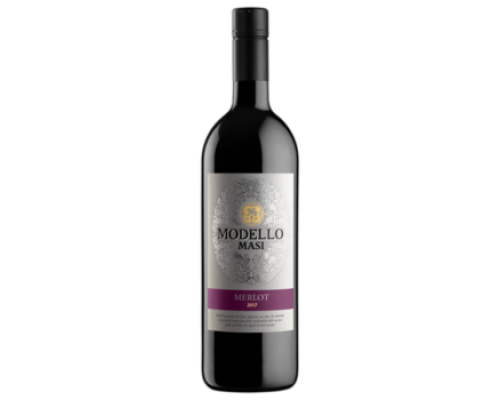 Вино Mazi Modello Merlot красное полусухое 0,75 л