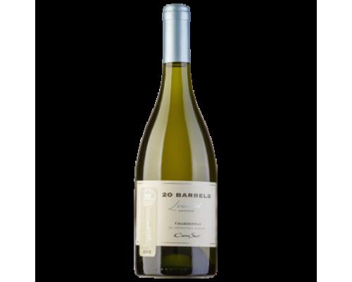 Вино Cono Sur 20 Barrels Chardonnay белое сухое 0,75 л