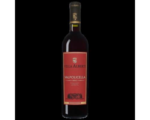 Вино Villa Alberti Valpolicella красное сухое 0,75 л