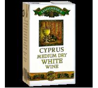 Вино Cyprus белое полусухое 1л