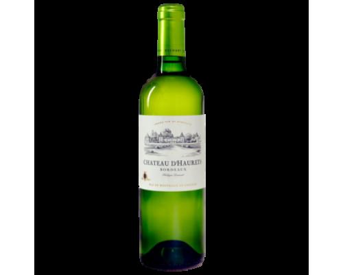 Вино Chateau D'Haurets белое сухое 0,75 л