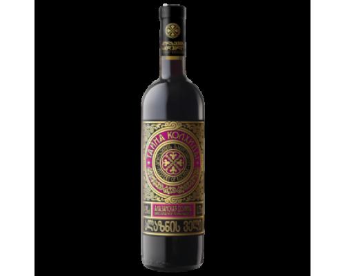 Вино Тайна Колхиды Алазанская долина красное полусладкое 0,75 л