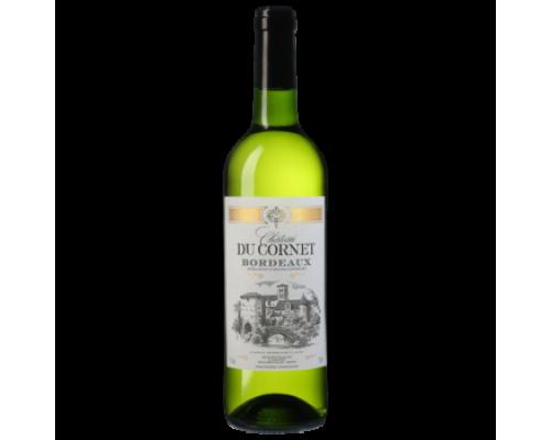 Вино Chateau du Cornet белое сухое 0,75 л