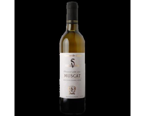 Вино Союз-Вино Медиум Мускат белое полусладкое 0,7 л