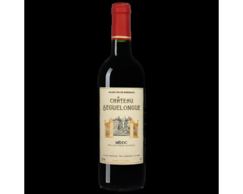 Вино Chateau Seguelongue Medoc красное сухое 0,75 л