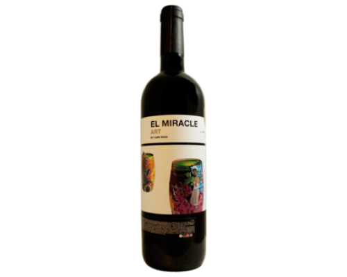 Вино El Miracle Art Alicante красное сухое 0,7 л