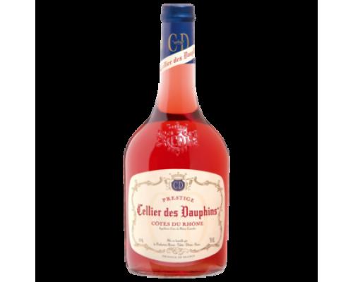 Вино Cellier des Dauphins Cotes du Rhones розовое сухое 0,75 л