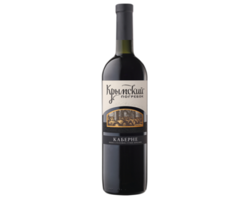 Вино Крымский Погребок Каберне красное сухое 0,75 л